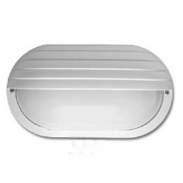Venkovní nástìnné svítidlo Ecolite NEPTUN WH2606-BI, IP44, ovál s krytem, bíle