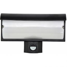 LED venkovní nástìnné svítidlo Ecolite MODES WHLX84-CR 9W, 4100K, 440lm, s èidlem 120st, 45xLED, IP44, èerné