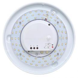Nástìnné a stropní svítidlo Ecolite VICTOR LED W131/LED-3000 - LED svìtlo, bílé, IP44, max.18W, HF senz.360