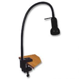 Stolní lampièka L078-CR s klipem - Lampa stolní èerná Ecolite