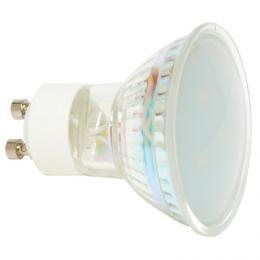 LED bodová žárovka Ecolite EURLED3SMD-GU10/2700 - LED zdroj GU10, 3xSMD, 1W, 2700K, 60lm