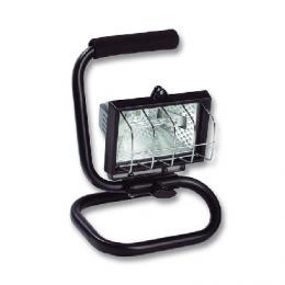 Vysoce úèinný halogenový reflektor REFLECTOR III 150 R6403-CR -  Halogen 150W s èerný podstavcem
