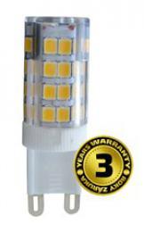 LED žárovka G9, 3,5W, 3000K, 300lm, Solight WZ322
