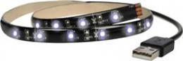 Solight LED pásek pro TV, 100cm, USB, vypínaè, studená bílá