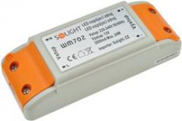 Solight LED napájecí zdroj, 230V - 12V, 2A, 24W, IP20, WM702