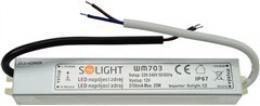 Solight LED napájecí zdroj, 230V - 12V, 2.1A, 25W, IP65, WM703