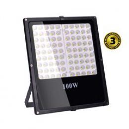 Solight LED venkovní reflektor, 100W, 8500lm, AC 230V, èerná, WM-100W-F
