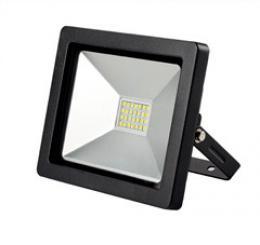 Solight LED venkovní reflektor SLIM, 20W, 1400lm, 3000K, èerná, WM-20W-G