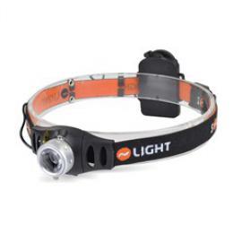 Solight LED stmívatelná èelová svítilna , 3W Cree, 140lm, fokus, 3x AAA