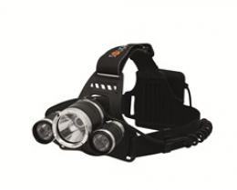 Solight LED èelová svítilna SUPER POWER, 900lm, 3x Cree LED, 4x AA
