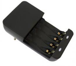 Solight nabíjeèka, AC 230V, max. 180mA, 2 kanály, AA/AAA, DN22