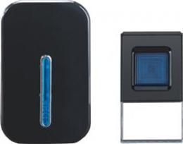 Solight bezdrátový zvonek, do zásuvky, 100m, èerný, 1L35B