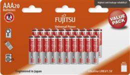 Fujitsu Universal Power alkalická baterie LR03/AAA, blistr 20ks, FU-LR03UP-20B