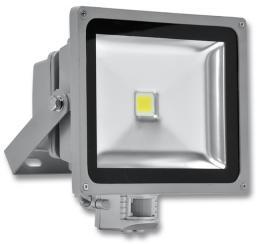 Venkovní LED reflektor GARY s pohybovým PIR èidlem RLEDF02-30W/PIR/3500