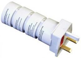 Solight cestovní adaptér, skládací, bílý, PA21