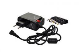 Solight univerzální sí�ový adaptér 1000mA, stabilizovaný, výmìnné konektory, DA25