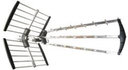 Solight venkovní DVB-T anténa, 17dB, UHF, 21. - 60. kanál, LTE/4G filtr, HN53-LTE