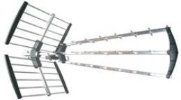 Venkovní DVB-T anténa, 39dB, UHF, 21. - 60. kanál. LTE/4G filtr, Solight HN59-LTE