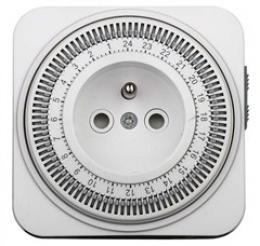 Solight èasový spínaè, 24 h., vypínaè, 1 režim, DT06