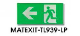 PIKTOGRAM šipka vlevo/vpravo, MATEXIT-TL939-LP, Plastová etiketa EXIT k TL939, vlevo/vpravo
