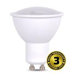 Solight LED žárovka, bodová , 7W, GU10, 3000K, 500lm, bílá WZ318A