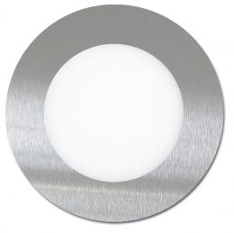 SMD panel kruh 12cm, 6W, 4100K, IP20, 440Lm, LED-WSL-6W/41/CHR