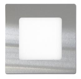 SMD panel 12x12cm, 6W, 2700K, IP20, 420Lm, LED-WSQ-6W/27/CHR