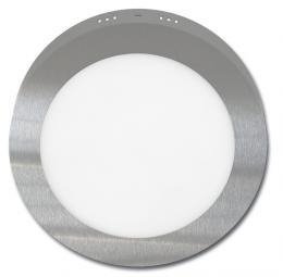 SMD kruh pøisazený 17,5cm, 12W, 2700K, IP20, 860Lm, LED-CSL-12W/27/CHR