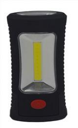 Solight LED svítilna pracovní, 3W COB + 3 SMD LED, hák + magnet, 3 x AAA, WL108