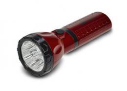 Nabíjecí LED svítilna, plug-in, Pb 800mAh, 9x LED, èervenoèerná, Solight WN10