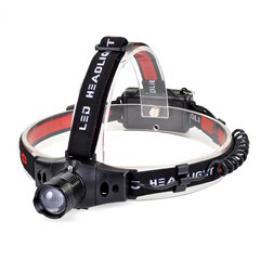 Solight èelová LED svítilna, 3W Cree LED, èernoèervená, 3 x AAA, WH18