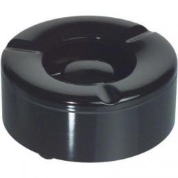 Popelník venkovní do vìtru plast, èerný 10 cm, Waca, Gastro, vhodný na zahrádky
