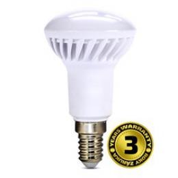 LED žárovka reflektorová, R50, 5W, E14, 3000K, 400lm, bílé provedení, Solight WZ413-1