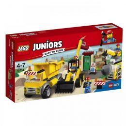 Demolièní práce na staveništi LEGO 10734