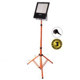 Solight LED venkovní reflektor s vysokým stojanem, 100W, 8500lm, kabel se zástrèkou, AC 230V, WM-100W-FVS