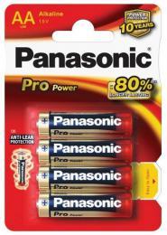 Panasonic Alkaline Pro Power Gold AA LR6, 4 ks blistr