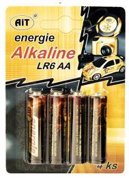 Baterie AiT LR6 AA Alkaline 4ks blistr