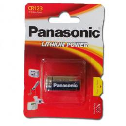 Panasonic CR123 Lithium Power, blister 1 ks