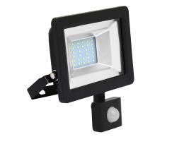 LED reflektor vèetnì PIR èidla Ecolite RLED48WL-20W/PIR SMD, 20W, 5000K, IP65, 1600Lm