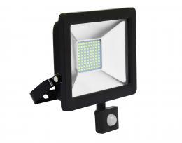 LED reflektor vèetnì PIR èidla Ecolite RLED48WL-30W/PIR, 30W, 5000K, IP44, 2400Lm