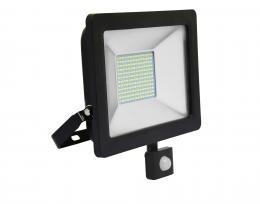 LED reflektor vèetnì PIR èidla Ecolite RLED48WL-50W/PIR, SMD, 50W, 5000K, IP65, 4100Lm