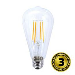 Solight LED žárovka retro, EDISON ST65, 8W, E27, 3000K, 360°, 810lm, WZ526