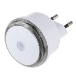 Noèní svìtlo s fotosenzorem do zásuvky 230V, 3x LED, EMOS 1456000060