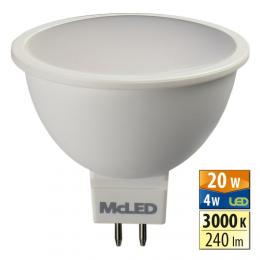 McLED ML-312.089.99.0,  LED spot 4 W GU5.3 3000 K 100 °