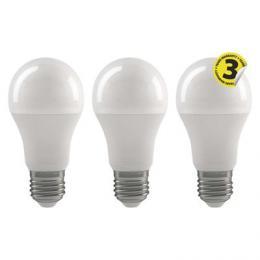 LED žárovka Classic A60 9W E27 teplá bílá 3ks, EMOS 1525733202