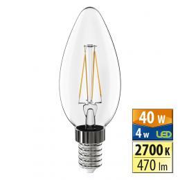 McLED McLED LED svíèka Classic 4 W E14 2700 K