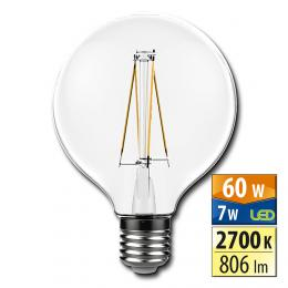 McLED LED žárovka Classic 7 W E27 2700 K