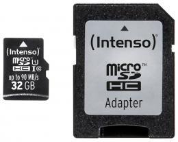 Pam�ov� karta Intenso 32GB micro SDHC PRO UHS-I + adapt�r