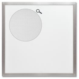Stropní Led panel ZEUS LED 45W s hliníkovým rámem Ecolite LED-GPL44-45/UGR, 600x600 - SMD panel 45W, 59,5cm, 4000K, IP20, 4300Lm