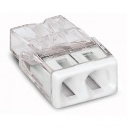 WAGO 2273-202 SVORKA (2) - 0.5 - 2.5 mm2 transparentní krabicová svorka